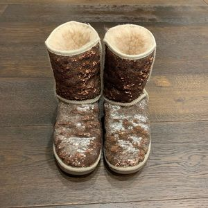 Ugg Sequin Classic Short Boots